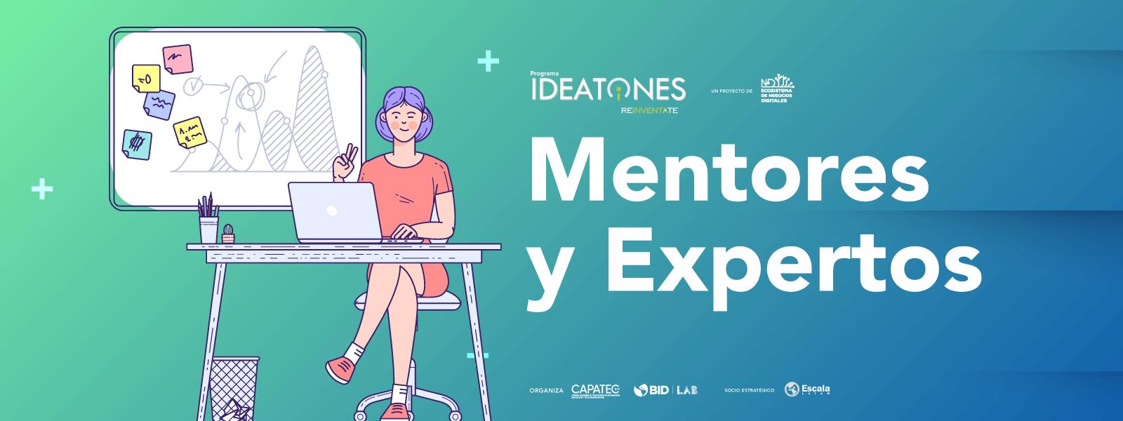 MENTORES Y EXPERTOS IDEATONES